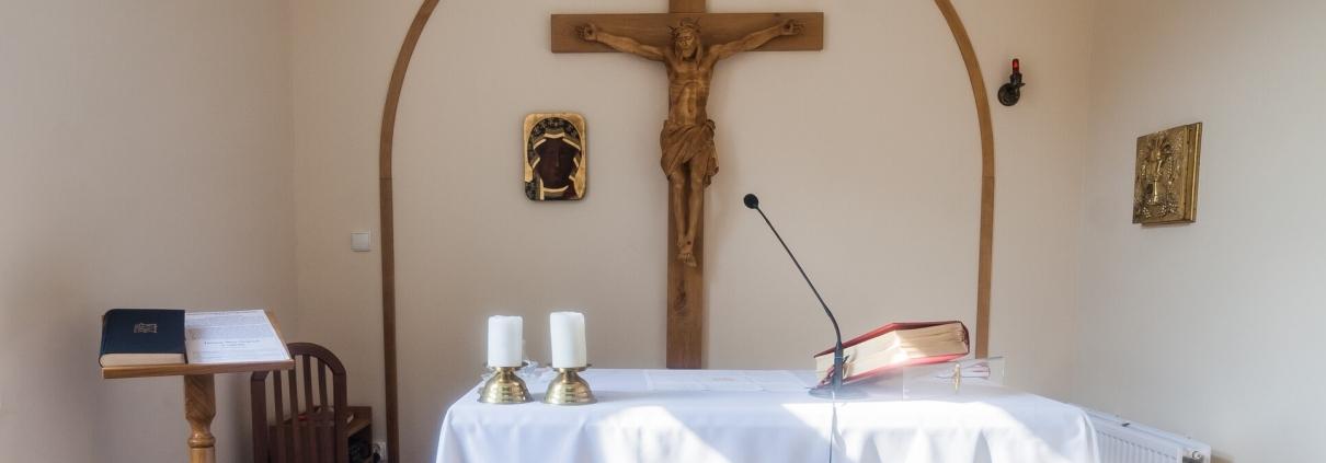 Kaplica św. Krzyża w szpitalu